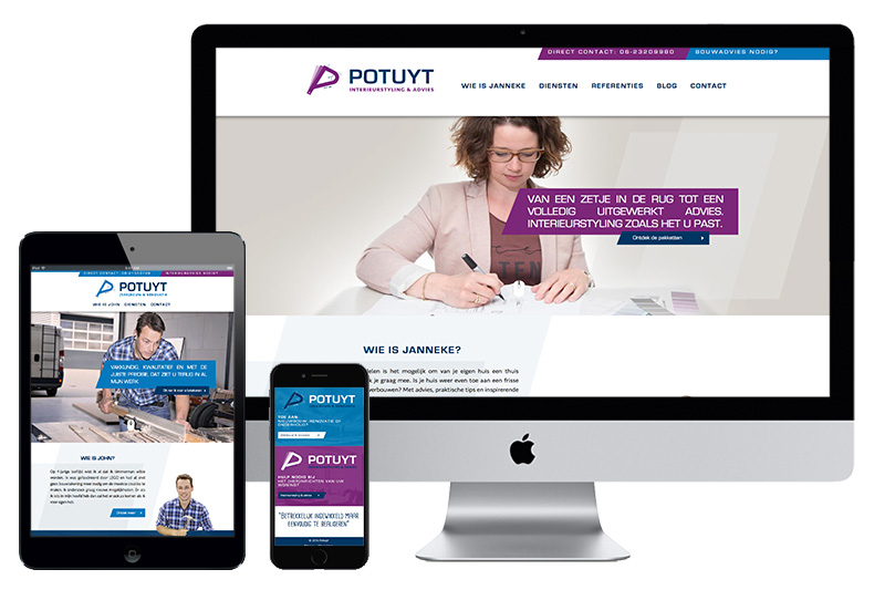 #Website# - Potuyt Bouw & Styling