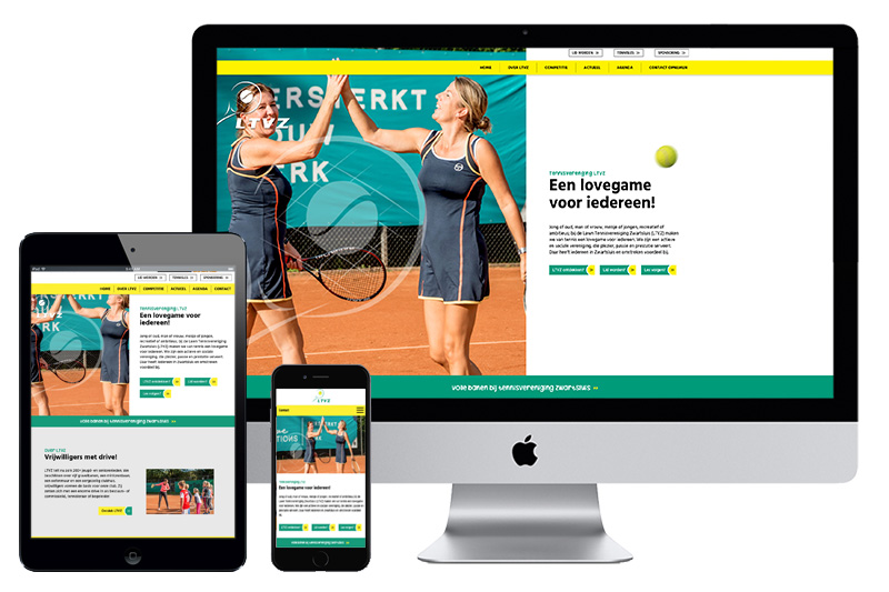 #Website# - Tennisvereniging LTVZ