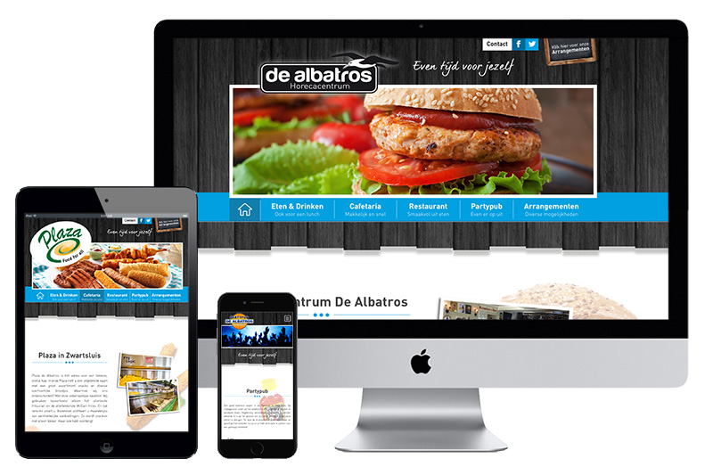 #Website# - De Albatros