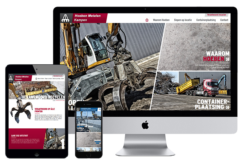 #Website# - Hoeben Metalen / RDM